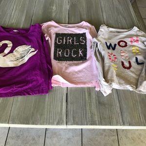 Set of 3 long sleeve shirts